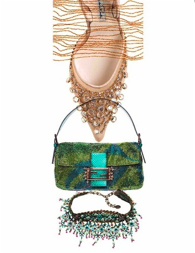 L.A. magazine / beaded accessories
